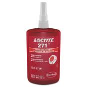 Loctite 271 Threadlockers, High Strength, 250 mL, 1 in Thread, Red, 1/BTL