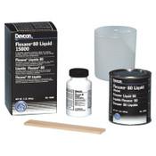 Devcon Flexane 80 Liquid, 1 lb, Black, 1/EA