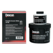 Devcon Brushable Ceramic, 2 lb, White, 1/EA