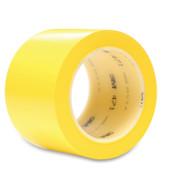 3M Vinyl Tape 471, Yellow, 4.35 in x 2 in, 1/RL