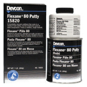 Devcon Flexane 80 Putty, 1 lb Can, 1/EA