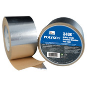 Berry Global 335FT High Temperature Flue Tape, 72 mm X 46 m, 3.8 mil, Aluminum, 1/RL