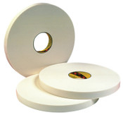 3M Double Coated Urethane Foam Tapes 4016, 1/2 in x 36 yd, 1/16 in, Natural, 1/ROL, #7000048478