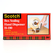 3M Scotch H180 Box Sealing Tape Dispensers, Metal/Plastic, 1/EA