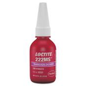 Loctite 222MS Threadlockers, Low Strength/Small Screw, 10 mL, Purple, 1/BTL