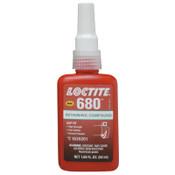 Loctite 680 Retaining Compound, 50 mL Bottle, Green, 4,000 psi, 1/EA