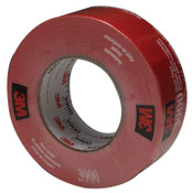 3M Duct Tapes 3900, Red, 5 1/2 in x 5 1/2 in x 7.7 mil, 1/RL
