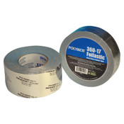 """Berry Global Foilastic Butyl Seal & Repair Tapes, 1 7/8"""" X 1,188"""", 17 mil, Aluminum - Printed, 1/RL"""