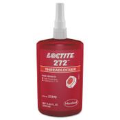 Loctite 272 Threadlockers, High Temp/High Strength, 250 mL, Red, 1/BTL