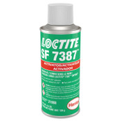Loctite 7387 Depend Activator, 4 1/2 oz, Aerosol Can, Light Brown, 10/CS