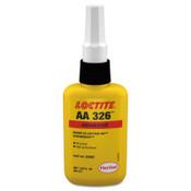 Loctite 326 Speedbonder Structural Adhesive, Fast Fixture, 50 mL, Bottle, Amber, 1/BTL