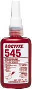 Loctite 545 Thread Sealant, Hydraulic/Pneumatic Fittings, 10 mL Bottle, Purple, 1/BTL