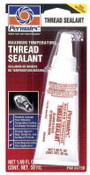 Devcon Maximum Temperature Thread Sealants, 50 ml Tube, White, 1/EA