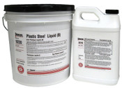 Devcon Plastic Steel Liquid (B), 25 lb, Dark Grey, 1/EA