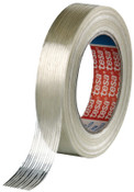 Tesa Tapes Economy Grade Filament Strapping Tape, 3/4 in x 60 yd, 100 lb/in Strength, 48/CS