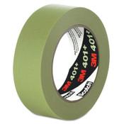 3M High Performance Green Masking Tape  401+ , 48mm W X 55 m L, 12/CA