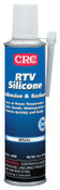 CRC RTV Silicone Adhesive/Sealants, 8 oz Pressurized Tube, White, 12/CS