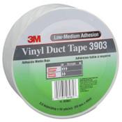 3M Vinyl Duct Tape 3903, Gray, 2 in x 50 yd x 6.3 mil, 1/RL