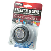 Berry Global Stretch & Seal Self Fusing Silicone Tapes, 1 in X 10 ft, 20 mil, Black, 1/RL