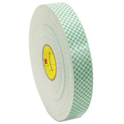 3M Double Coated Urethane Foam Tapes 4016, 3/4 in X 36 yd, 62 mil, Off-White, 1/RL