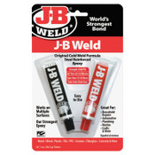 J-B Weld Cold Weld Compounds, 2 oz (2 x 1 oz.) Skin Packed, Dark Grey, 1/EA