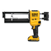 DeWalt Cordless 20V MAX Acrylic Dispenser Kit, 10:1, 28 oz, 1/EA
