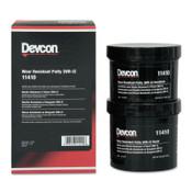 Devcon Wear Resistant Putty WR-2, 1 lb, Dark Gray, 1/EA