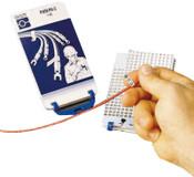 Brady Porta-Pack Wire Markers, +, - , /; 0 - 15; A-Z, Matte, Repositionable Vinyl, 10/PKG
