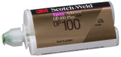3M Scotch-Weld Two-Part Epoxy Adhesives, DP100 Plus, 1.7 oz, Dou-Pak, Clear, 1/EA