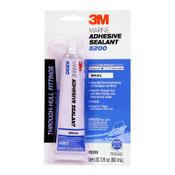 3M Marine Adhesive Sealants, 3 oz, Tube, White, 6/CA
