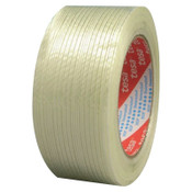 Tesa Tapes Performance Grade Filament Strapping Tape, 1 in x 60 yd, 155 lb/in Strength, 1/ROL