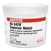 Loctite Fixmaster Superior Metal, 1 lb, Kit, Dark Grey, 1/KIT
