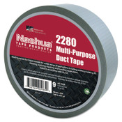Berry Global 2280 General Purpose Duct Tapes, Silver, 55m x 48mm x 9 mil, 1/RL