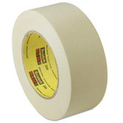 3M General Purpose Masking Tapes 234, 2.83 in X 60.14 yd, Tan, 12/CA