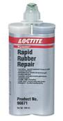 Loctite Fixmaster Rapid Rubber Repair, Urethane, 400 mL, Cartridge, Black, 1/BTL