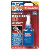 Devcon Permatex High Strength Red Threadlocker, 10 mL, 1/4 in - 3/4 in, 1/EA