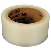 3M TARTAN BOX SEALING TAPE369 CLEAR 72MMX100M, 24/CS