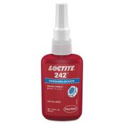 Loctite 242 Threadlockers, Medium Strength, 50 mL, Blue, 1/BTL