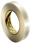 3M Scotch Filament Tapes 898, 0.47 in x 60 yd, 380 lb/in Strength, Clear, 1/ROL