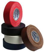 Berry Global Premium Vinyl Coated Gaffers Tapes, 2 in X 60 yd, 11.5 mil, Red, 24/CS