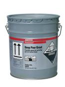 Loctite Fixmaster Deep Pour Grout, 5 gal, Kit, Black, 1/KIT