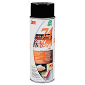 3M FoamFast 74 Spray Adhesive, 16.9 oz, Aerosol Can, Orange, 12/CA