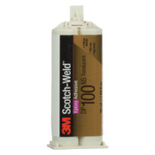 3M Scotch-Weld Two-Part Epoxy Adhesives, DP100, 1.7 oz, Dou-Pak, Clear, 1/EA