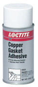 Loctite Copper Gasket Adhesive, 9 oz Aerosol Can, Copper, 12/CS