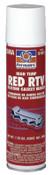 Permatex High-Temp Red RTV Silicone Gasket, 7.25 oz Automatic Tube, Red, 12/CS