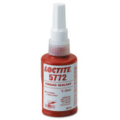 Loctite 5772 Low Halogen, Low Sulfur Thread Sealants, 50 mL Bottle, Yellow, 12/CA