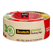 3M Scotch 2050 Greener Masking Tapes, 1.88 in x 60 yd, Beige, 1/RL