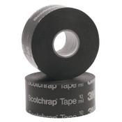 "3M Scotchrap All-Weather Corrosion Protection Tape 50, Unprinted,100'X2"",10 mil, Bk, 24/CA"