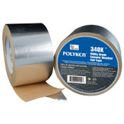 Berry Global 340X Utility Extreme Weather Foil Tape, 72 mm X 46 m, 3 mil, Aluminum, 1/RL