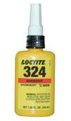 Loctite 324 Speedbonder Structural Adhesive, High Impact, 50 mL, Bottle, Amber, 1/BTL